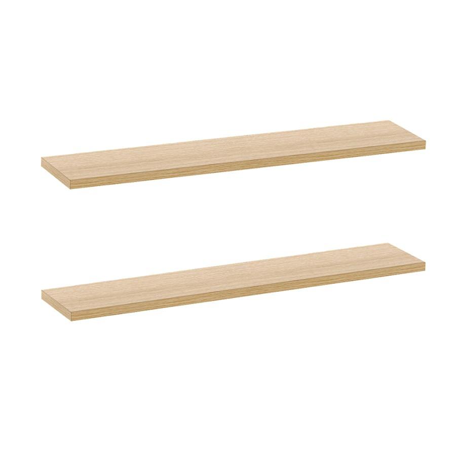 Kệ treo tường gỗ trang trí nhà cửa tiệ lợi rộng 80cm x sâu 15cm ( vàng, nâu, đen, trắng)