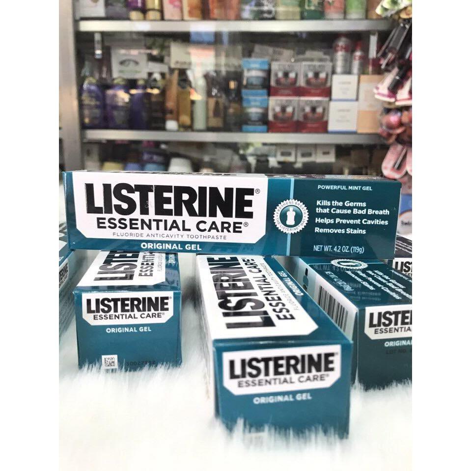 Kem đánh răng Listerine Essential Care Toothpaste - 3326426 , 427783811 , 322_427783811 , 110000 , Kem-danh-rang-Listerine-Essential-Care-Toothpaste-322_427783811 , shopee.vn , Kem đánh răng Listerine Essential Care Toothpaste