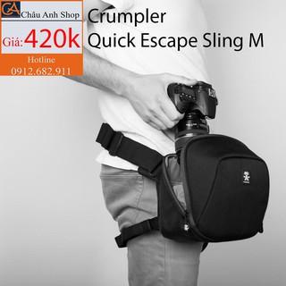 (HÌNH THẬT) Túi máy ảnh Crumpler Quick Escape Sling M (Có ngăn iPad) thumbnail