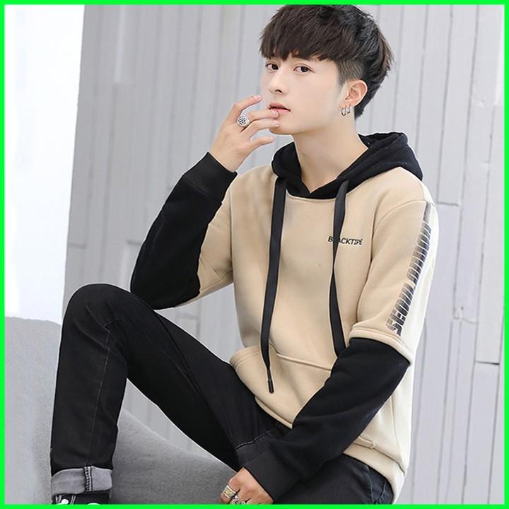 Áo hoodie nam - áo khoác nam Hàn Quốc 2019 - Khoác nam mặc ngoài Áo hoodie nam - áo khoác nam Hàn Quốc 2019