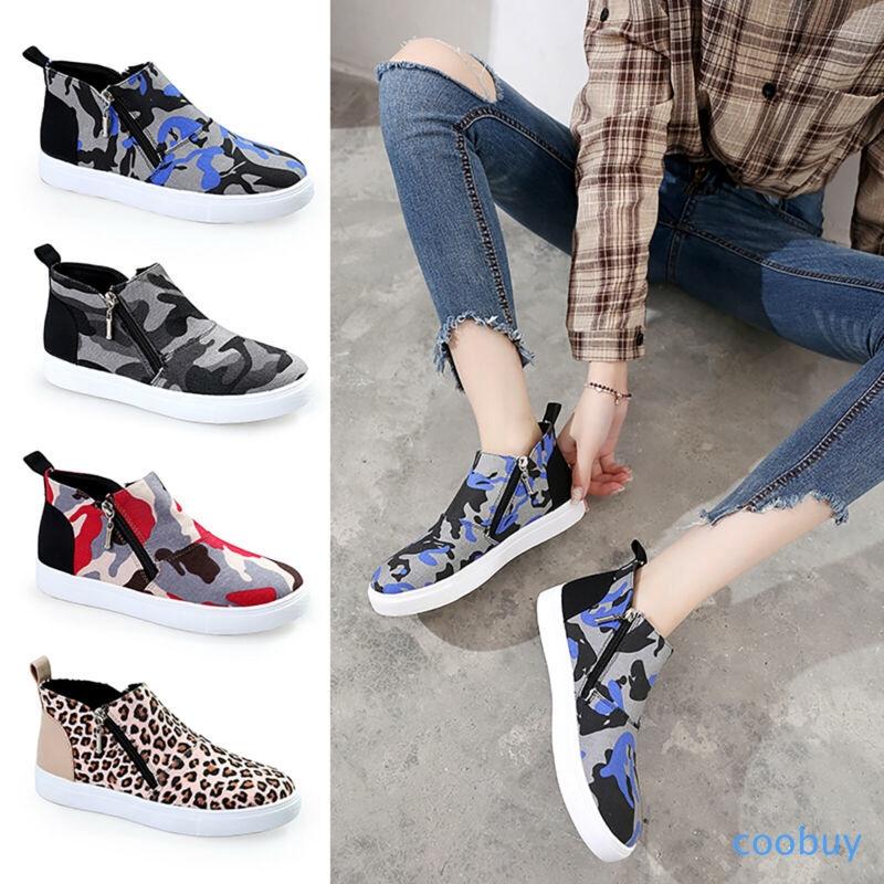Giày lười màu Camo phong cách Camo