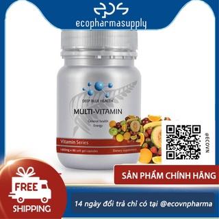 Viên Vitamin tổng hợp MultiVitamin Deep Blue Health (60v) thumbnail