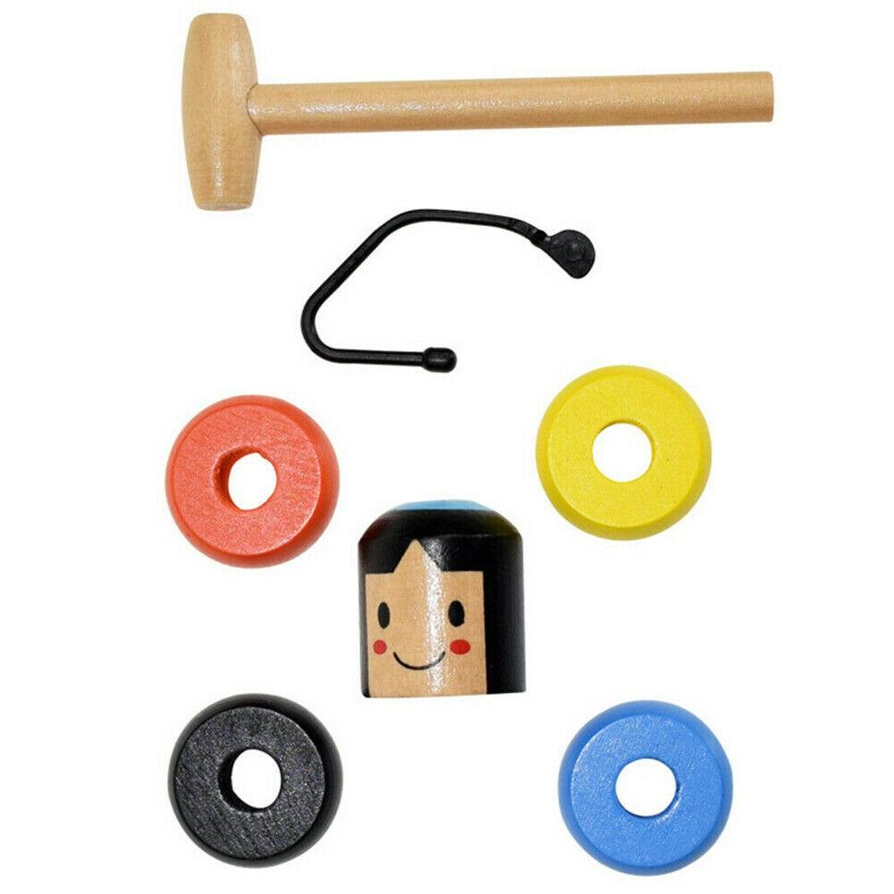 Bộ đồ chơi phép thuật bằng gỗ sáng tạo cho bé