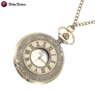 Đồng hồ quả quýt chạm khắc số la mã