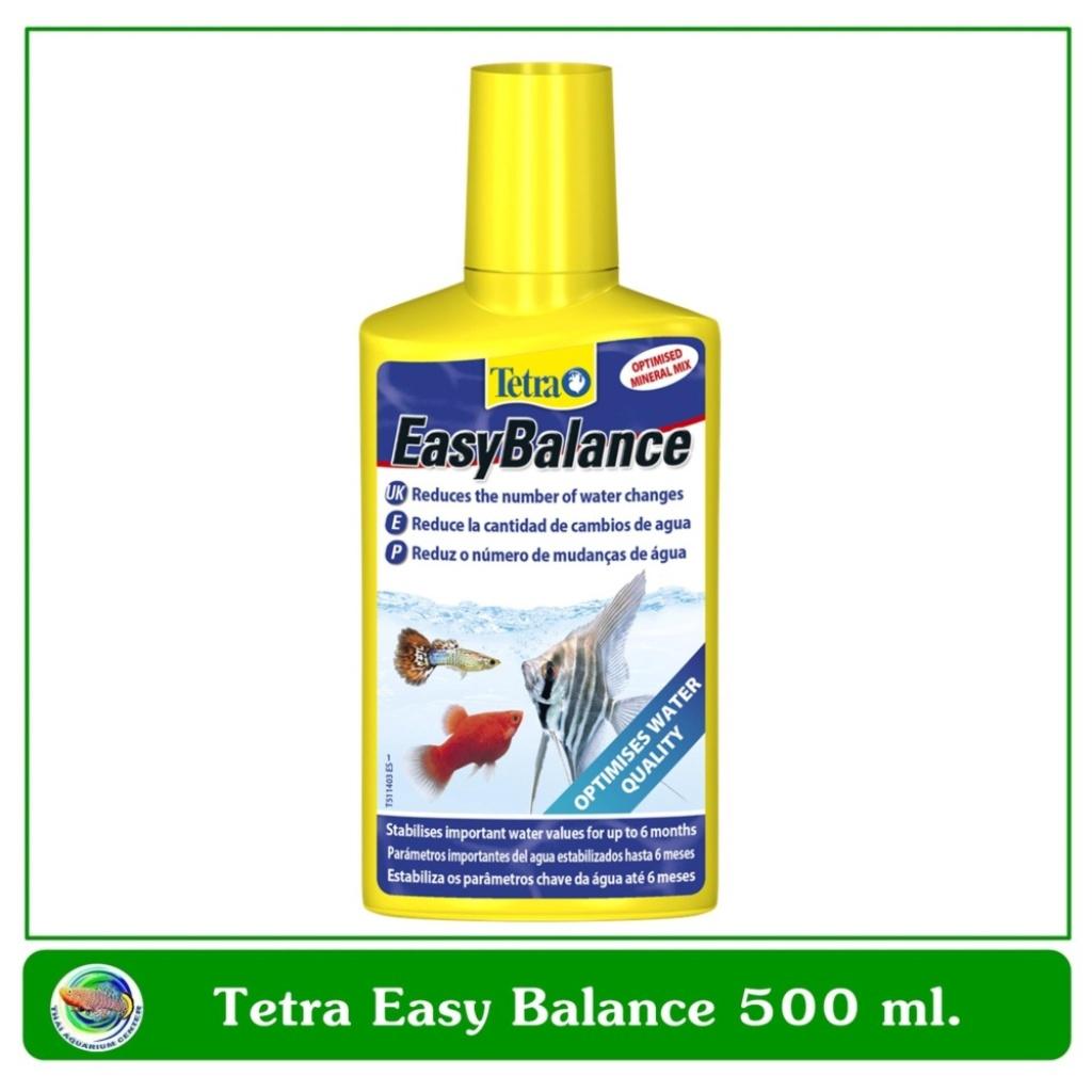 Tetra Easy Balance น้ำยาปรับสภาพน้ำ ลดความถี่ในการเปลี่ยนถ่ายน้ำ ขนาด 500 ml.etra Easy Balance น้ำยาปรับสภาพน้ำ ลดความถี