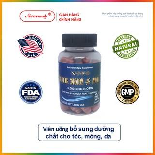 Viên Uống Bổ Sung Dưỡng Chất Cho Tóc, Móng, Da NOVO HAIR SKIN & NAIL Hộp 60 Viên Nhập Khẩu Chính Ngạch Hoa Kỳ thumbnail