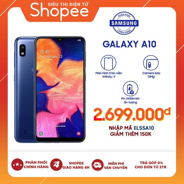 Hình ảnh Điện Thoại Samsung Galaxy A10 - Hãng Phân Phối Chính Thức-0