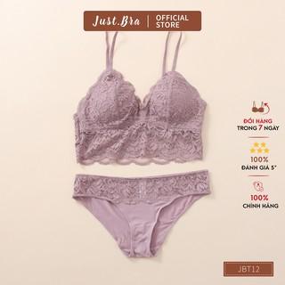 Set đồ lót Just Bra sự kết hợp giữa ren mềm mịn và cotton thoáng mát JBT12 thumbnail
