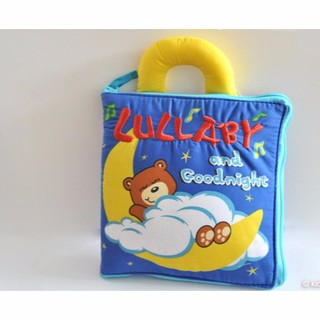"""Sách vải """"LULLABY AND GOODNIGHT""""/ đồ chơi giáo dục đầu đời"""