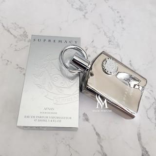 Magicperfume-Nước hoa nam chính hãng Afnan Perfumes Supremacy Silver Fullseal chai 100ml