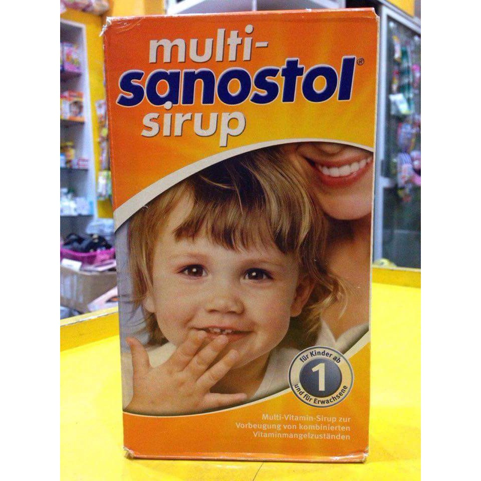 Sanostol Sirup