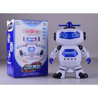 ĐỒ CHƠI ROBOT THÔNG MINH XOAY 360 ĐỘ