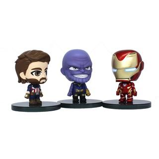 Mô Hình Nhân Vật Iron Man 2 Inch