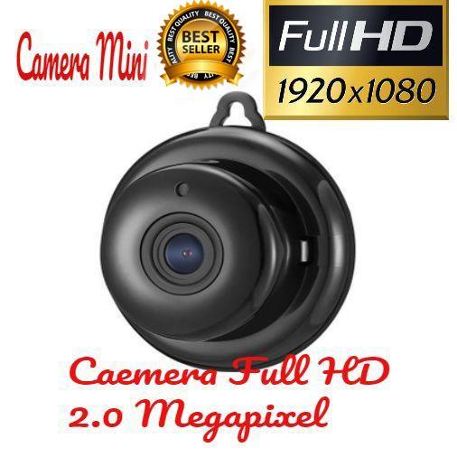 Camera IP Wifi Không Dây Mini Full HD 1080P có báo động chống trộm
