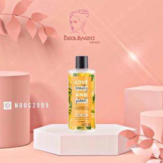 Sữa tắm dưỡng ẩm phục hồi da khô Love Beauty And Planet Tropical Refresh 400ml thumbnail