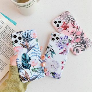 Ốp điện thoại mềm hình hoa màu sắc dành cho IPhone 11 Pro Max 678 Plus Xs Xr SE2