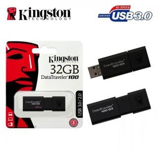 [Mã ELFLASH5 giảm 20K đơn 50K] Usb Kingston 32GB 3.0 DT100 G3 bh 5 năm