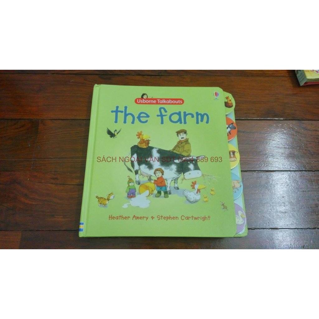 Sách tiếng anh tương tác đặt câu hỏi - Usborne Talkabout: The farm