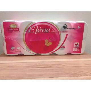 Combo 2 bịch giấy vệ sinh Elene hồng 3 Lớp có lõi