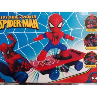 Người nhện lướt ván chạy pin