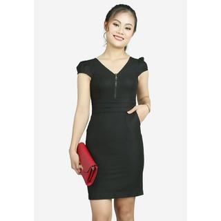 The One Fashion đầm công sở DDY0753DE thumbnail