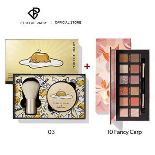 Phấn phủ 7g+Bảng Phấn Mắt 14g Perfect Diary PerfectStay Cho Trang Điểm thumbnail