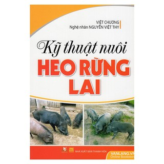 Sách - Kỹ Thuật Nuôi Heo Rừng Lai thumbnail