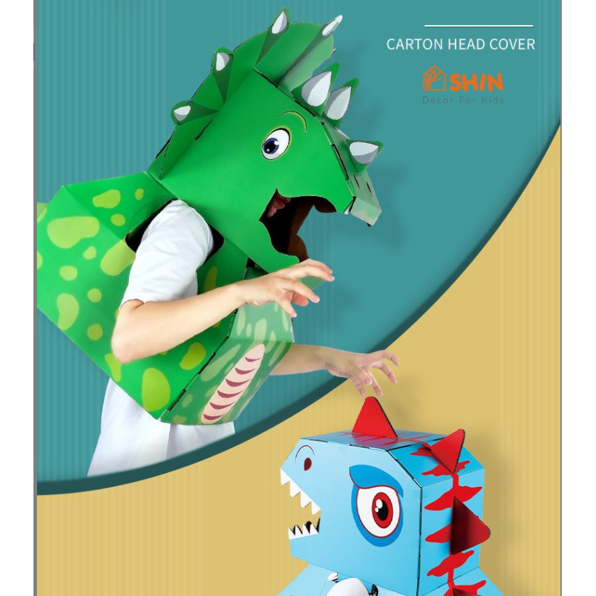 Đầu khủng long Cartoon