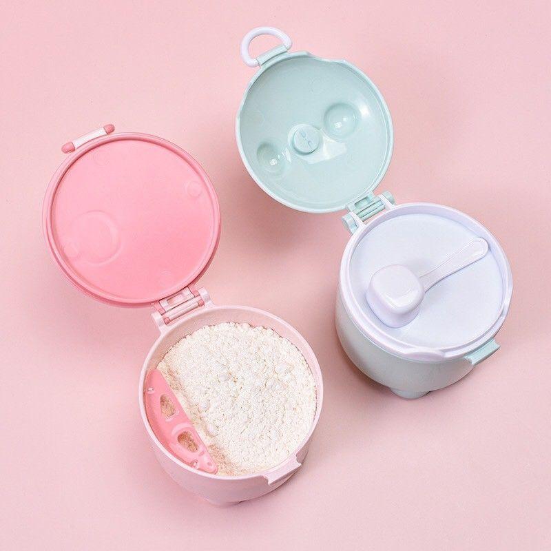 [Mã 267FMCGSALE giảm 8% đơn 500K] Hộp Đựng Sữa Bột Cực Tiện Lợi Cho Bé Khi Đi Chơi , Đi Du Lịch Cùng Ba Mẹ