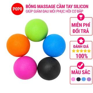 Bóng massage giúp thư giãn cơ bắp trị liệu hiệu quả kích hoạt các điểm thần kinh dành cho tập thể hình POPO YGB35 thumbnail
