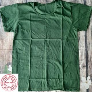 Áo lót cộc tay BĐ – chất liệu cotton màu xanh – hàng chuẩn CQN