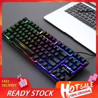 Bàn Phím Cơ Gaming Dnbg_gk-10 87 Phím Có Đèn Nền Cho Laptop / Pc