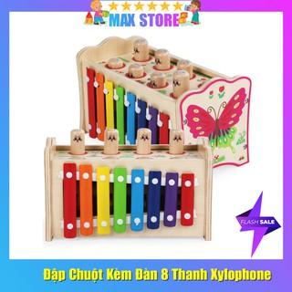 Đồ chơi Đập Chuột 8 Con Kèm Đàn 8 Thanh Xylophone