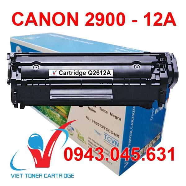 Hộp Mực In 12A - Canon LBP 2900 3000 L11121E FX9 - Hp 1020 1022 1018 3050 MF4320d MF4350d MF4122 1319 Cartridge Q2612A