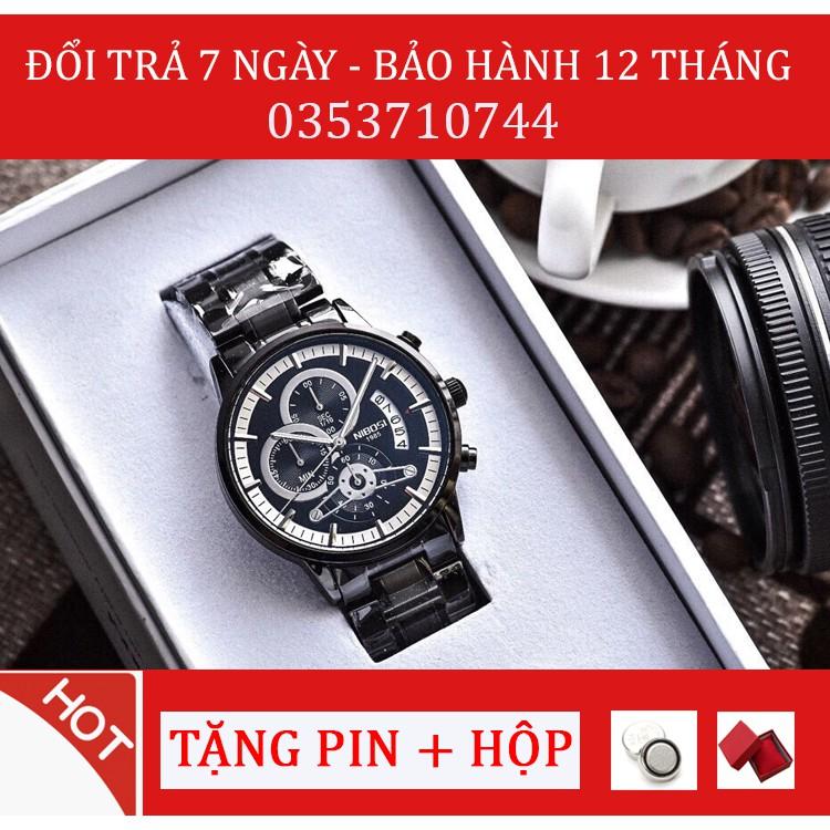 (Hot hit) Đồng hồ nam Nibosi 2309 full box lịch lãm