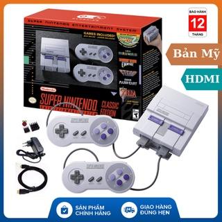 (Bản HDMI), MÁY CHƠI GAME Nintendo SNES 16-BIT - Super Nintendo , tay cầm game , máy chơi game , ps4 , bảo hành 1 năm thumbnail