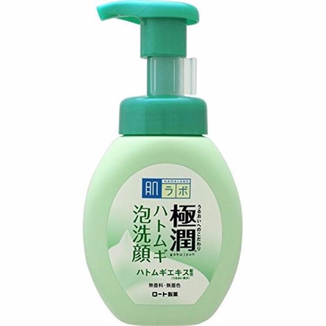 Sữa rửa mặt tạo bọt Hada Labo của Rohto Nhật Bản màu xanh - 2655853 , 1335625804 , 322_1335625804 , 210000 , Sua-rua-mat-tao-bot-Hada-Labo-cua-Rohto-Nhat-Ban-mau-xanh-322_1335625804 , shopee.vn , Sữa rửa mặt tạo bọt Hada Labo của Rohto Nhật Bản màu xanh