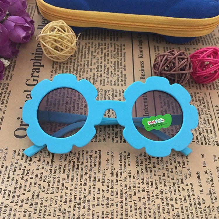 Kính cho bé gái hình hoa Chống tia cực tím UV cho bé trai và bé gái