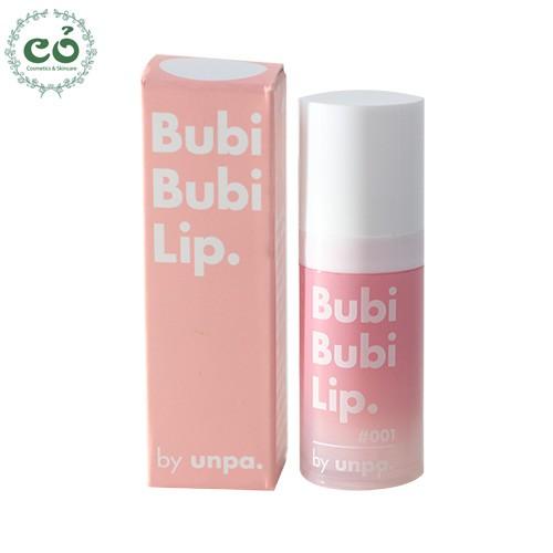 Gel sủi bọt tẩy tế bào chết môi Unpa Bubi Bubi Lip