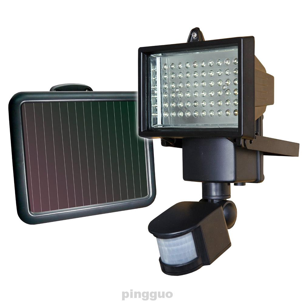 Energy Saving Solar Powered Security With Motion Sensor Easy Install Led Light