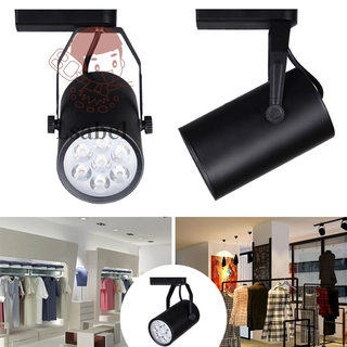 High Power LED Track Light 3W/ 5W/ 7W/ 12W/ 18W Aluminum Lamp Spotlight Lighting