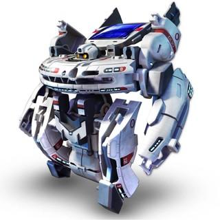 [Nhập mã TOYMAY15 giảm 15K] Bộ lắp ráp robot không gian 7 in 1 năng lượng mặt trời (220)