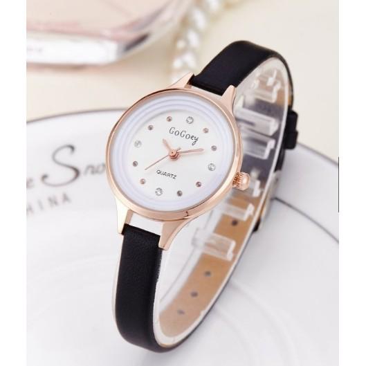 Đồng hồ thời trang nữ Gogoey - đen vrg1172