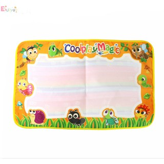 Enjoygo Creative Kids Magic Water Canvas Blanket Write Pen Doodle Toys
