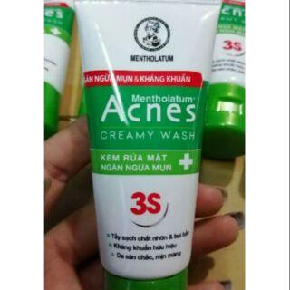(2 LOẠI) Kem rửa mặt Acnes 25g thumbnail