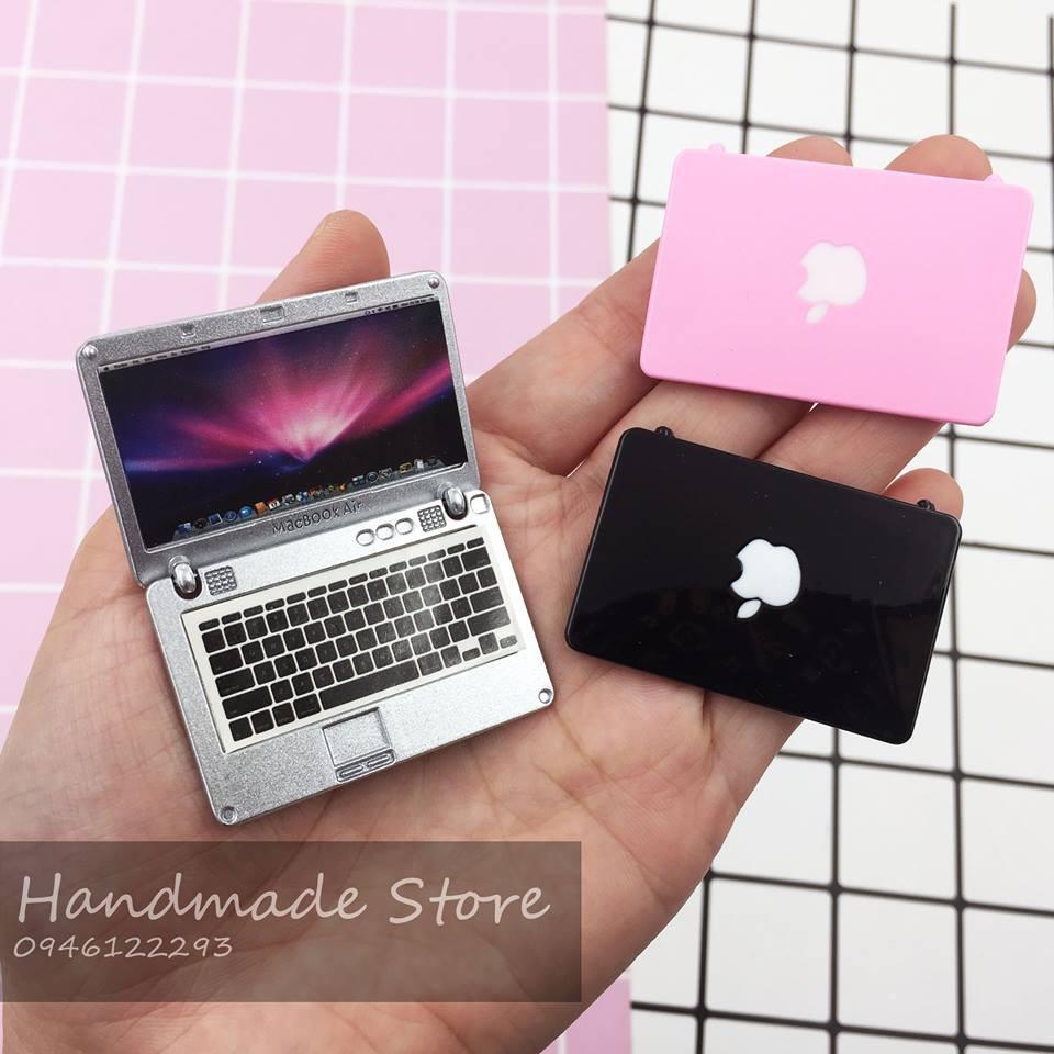 Máy tính Macbook – Mô hình đồ chơi mini tỷ lệ 1:12