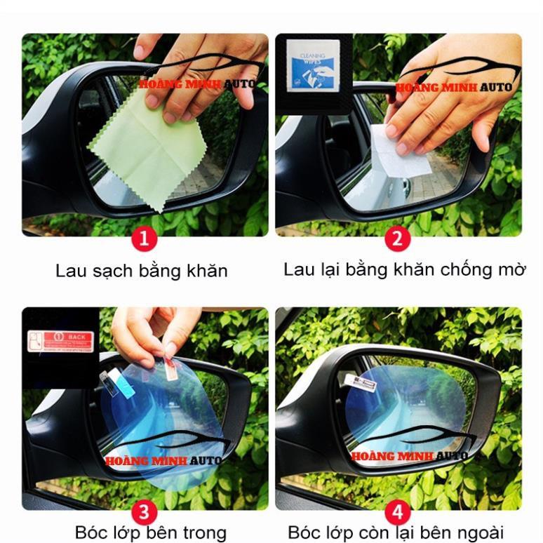 Bộ 2 miếng dán gương ô tô chống bám nước - Better Car
