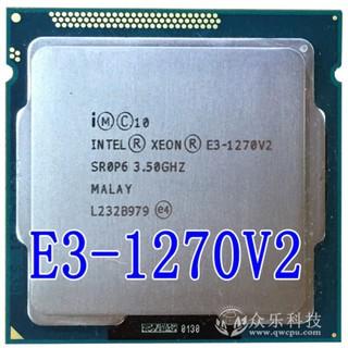 CPU Intel Xeon E3 1270v2 mạnh hơn i7 3770 – 8M Cache Upto 3.90 GHz 4 nhân 8 luồng Soket 1155