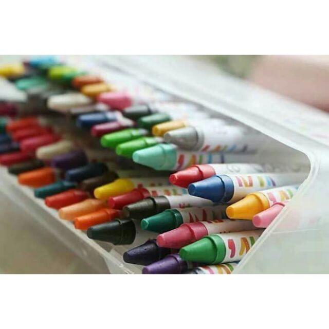Bộ bút sáp 64 màu