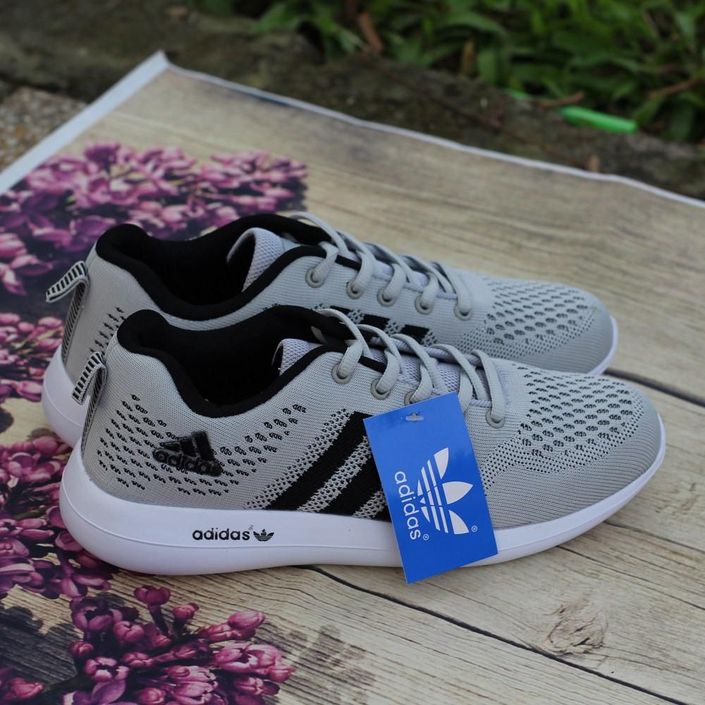 Giày Adidas nam xám thời trang - GK